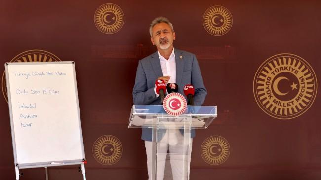 CHP Ordu Milletvekili Mustafa Adıgüzel Basın Toplantısı Düzenledi