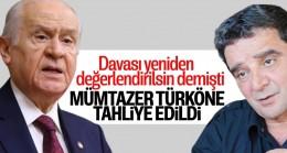 Bahçeli Yeniden Yargılansın Dedi  Mümtazer Türköne Tahliye Edildi