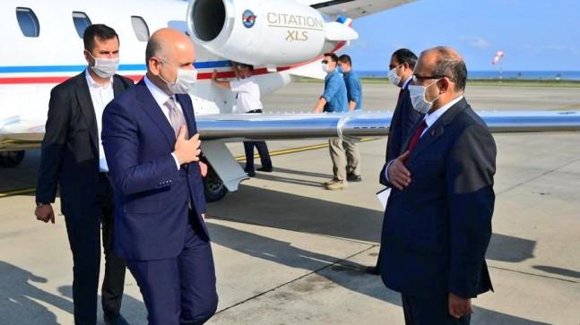 Bakan Trabzonda Çalışmaları Yerinde İnceledi