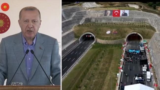 Cumhurbaşkanı Erdoğan : Düt Demeye Yürek İster
