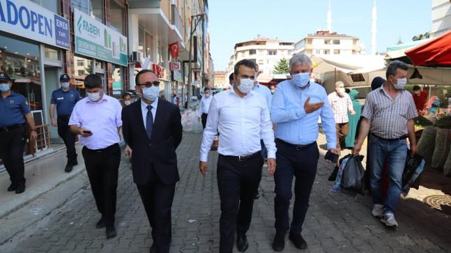 Başkan Sarıalioğlu Of Sokaklarında