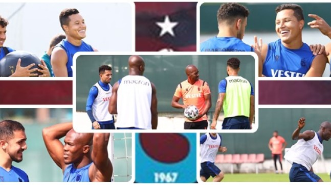 Trabzonsporda Neşeli İdman