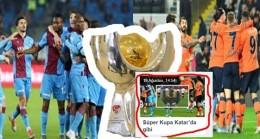 Süper Kupa Katarda Sahibini Bulacak