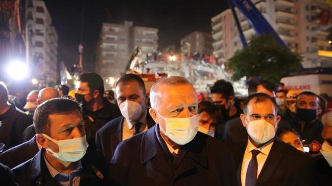 İzmir Sahipsiz Değildir Devlet Tüm İmkanları İle Vatandaşının Yanındadır