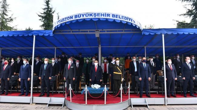 Cumhuriyetin 97.Yılı Trabzonda Çoşkuyla Kutlandı