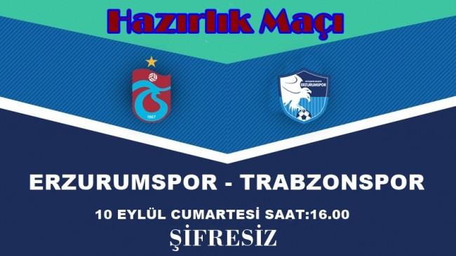 Erzurumla  Hazırlık Maçı Şifresiz Kanalda