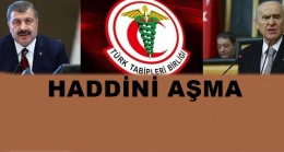 Türk Tabipler Birliği Bakan Koca'yı istifaya çağırdı…