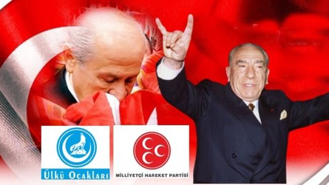 Ülkücü Hareketin kültürel ve sosyal anlamdaki temsilcisi ÜLKÜ OCAKLARI, siyasi temsilcisi de MHP'dir.