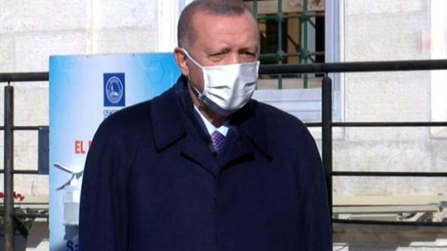 Cumhurbaşkanı Erdoğan: CUMA NAMAZI ÇIKIŞI AÇIKLAMALARDA BULUNDU