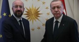AB Konseyi Başkanı Michel Cumhurbaşkanı Erdoğan'ı Aradı
