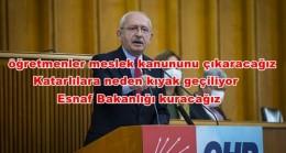 Kılıçdaroğlu Meclis Kürsüsünden Hükümeti Yerden Yere Vurdu