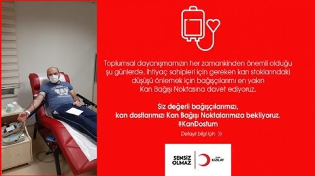 TUĞRA GÜVENLİK Genel Müdürü  Özgür Yolcu, Kan Bağışına Dikkat Çekti