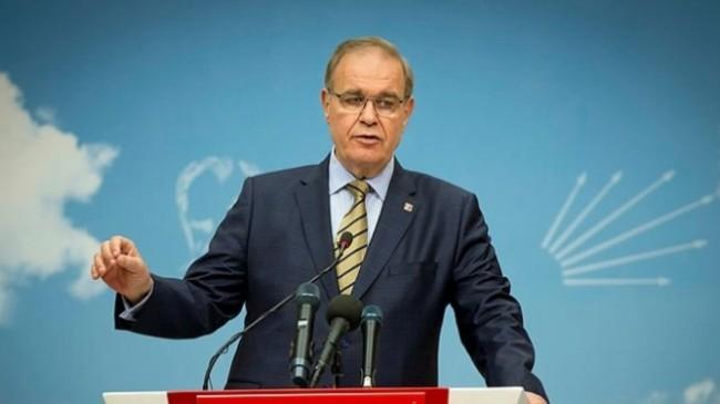 CHP Sözcüsü Faik Öztrak  : SARAY İSTİFA ETMELİ