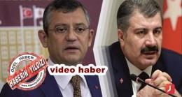 Özgür Özelden Sağlık Bakanına Destek ; BAKAN HAKLIDIR