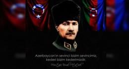 """""""CAN"""" AZERBAYCAN ZAFER GÜNÜNÜ 8 KASIM OLARAK BELİRLEDİ"""