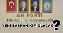 Trabzon Ak Partide Görev Değişimi