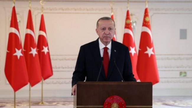 Cumhurbaşkanı Erdoğan, Devegeçidi Köprüsünü açılışını gerçekleştirdi
