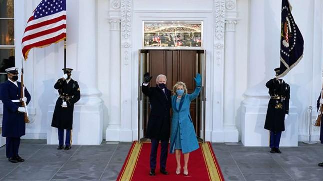 Joe Biden Beyaz Saray'da!