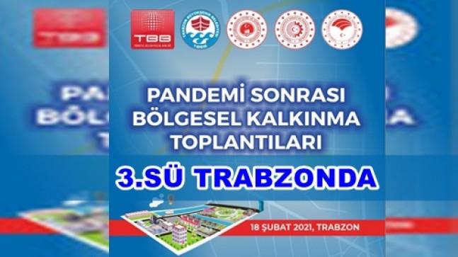Bölgesel Kalkınma Toplantıları Trabzon ile Devam Ediyor