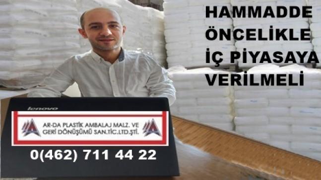 PLASTİKTE HAMMADDE KRİZİ DURDURULAMIYOR
