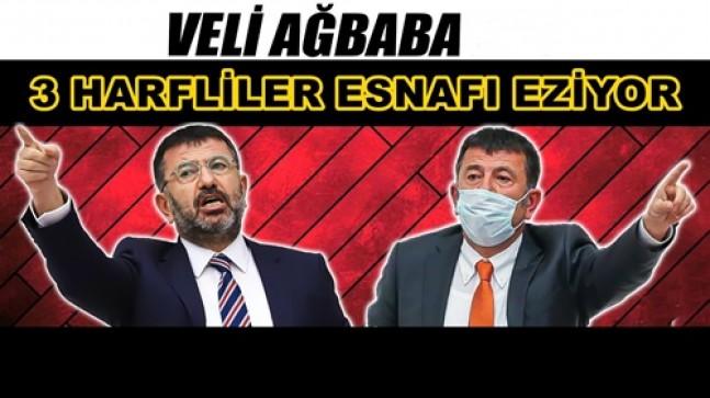 """VELİ AĞBABA: Esnafın boğazındaki """"zincir"""" AKP'nin eseri!"""