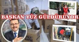Ortahisar Belediyesinden Vatandaşlara Gıda Paketi Desteği