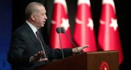 Erdoğan, Libya Milli Birlik Hükümeti Başbakanı Abdülhamid Dibeybe ile ortak açıklama yaptı.