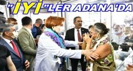 Akşener, Adana'da Esnafı Ziyaret Etti