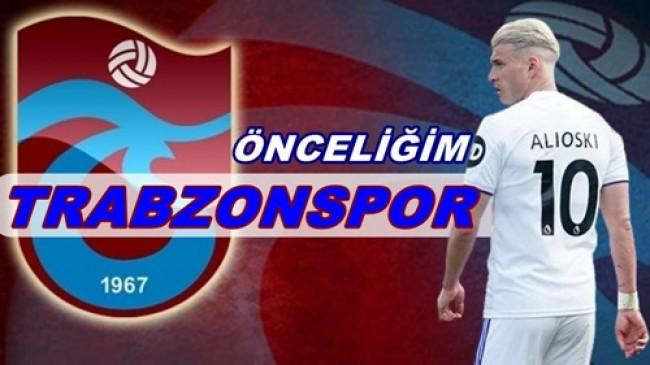 """ALİOSKİ MENEJERİNE """"TRABZONSPOR"""" TALİMATI VERDİ…"""