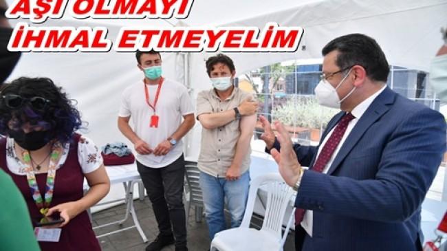 Başkan Genç'ten vatandaşlara kovid-19 aşısı çağrısı!
