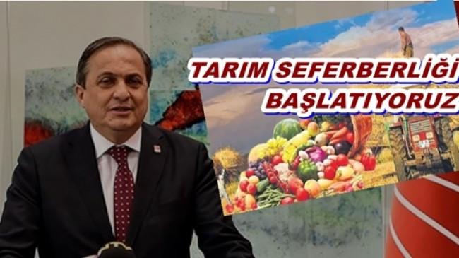 CHP Genel Başkan Yardımcısı Torun: TARIMDA ACI TABLO