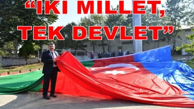 """""""TÜRK DÜNYASI GÜCÜNÜ İSPAT ETTİ"""""""