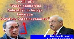 Kılıçdaroğlu'ndan Çakıcı'nın tehdit mektubuyla ilgili ilk açıklama: Çakalların olduğu yerde hiç kimse bize bir şey söyleyemez