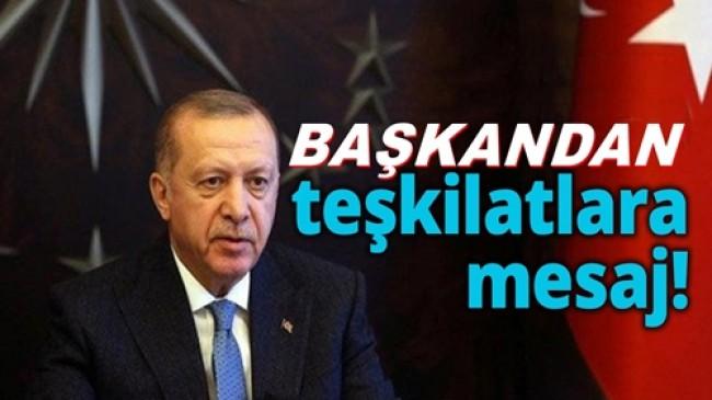 Cumhurbaşkanı Erdoğan'dan Seçim Talimatı: Startı Verdik