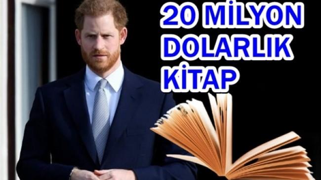 Prens Harry,Kitap Yazıyor