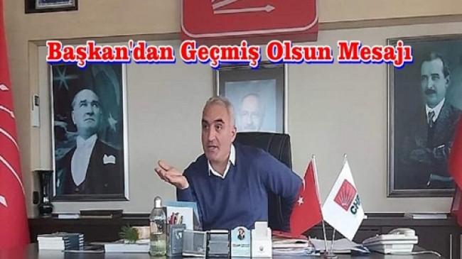 """CHP  İl Başkanı Hacısalihoğlu: """"Geçmiş Olsun, Karadeniz"""