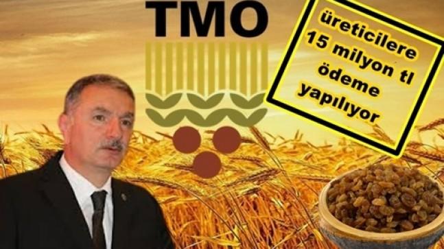 TMO'dan15 Milyon Liralık Ödeme