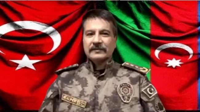Trabzon Emniyet Müdürü Metin Alper : Hilal Bıyıklı Bozkurtlarım Karabağ'ın göbeğine Türk'ün Bayrağını Türk'ün Sancağını Dikmek Üzere Hazır Bekliyorlar.