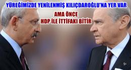 Devlet Bahçeli: Kılıçdaroğlu Artık Terör Örgütünün Arka Bahçelerinden Uzak Durmalı