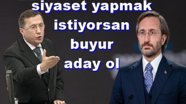 İYİ Parti'li Türkkan, Fahrettin Altun'un görev tanımını TBMM'ye taşıdı: Arkadaşın durumunu netleştirelim