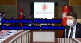 ADALET KOMİSYONU TOPLANDI