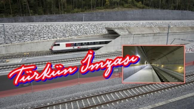 Dünyanın En Uzun Tünelinde   Türk İmzası…