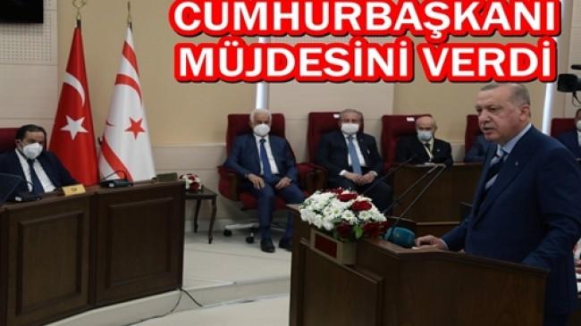 Cumhurbaşkanı Erdoğan, Merakla Beklenen Müjdeyi Verdi