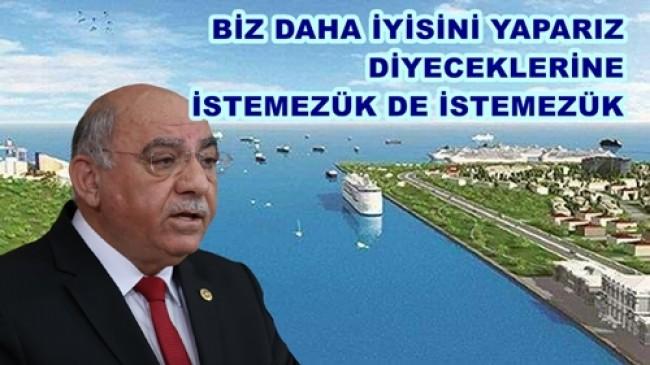 Kanal İstanbul Bağımsızlık ve Egemenlik Projesidir ..
