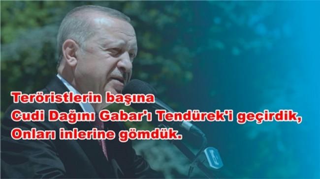 Cumhurbaşkanı Erdoğan, Erzurum'da Toplu Açılış Törenine Katıldı
