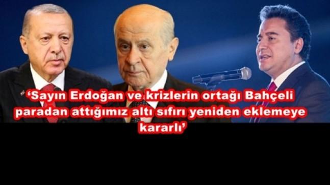 Ali Babacan :'Erdoğan Ekonominin Direksiyonunda, Bütün Ülke Kelle Koltukta'