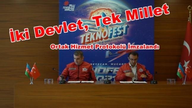 Türkiye Teknoloji Takımı Vakfı ve Azerbaycan Arasında İş Birliği Protokolü İmzalandı